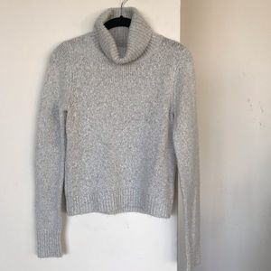 Heather grey Turtle neck sweater